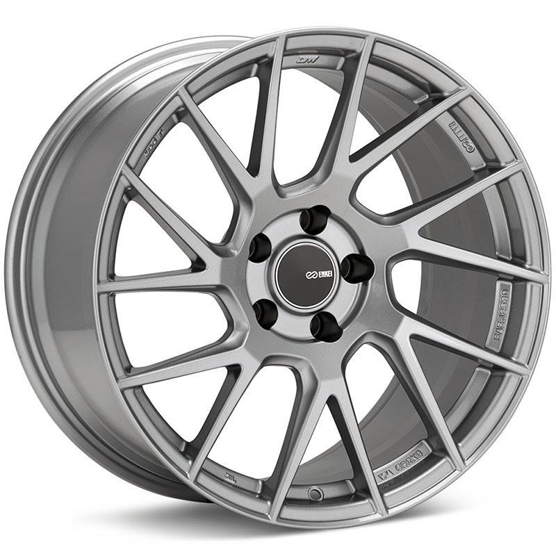 Enkei Tuning Series TM7 Wheel for 17x8 +45 5x114.3 in Storm Gray