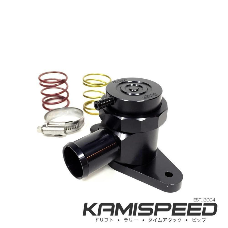 Forge Motorsport Black Recirculating Valve (BPV) WRX Legacy Mazda3 6 CX-7