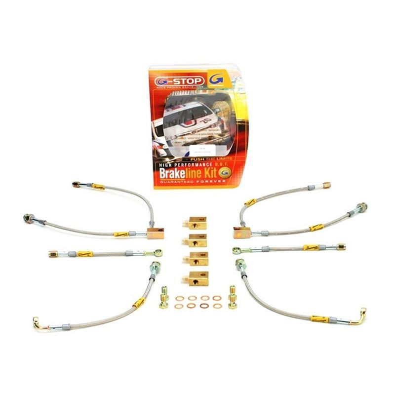 Goodridge Brake Line Kit for the Nissan GT-R R35