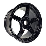 Gram Lights 57CR 18X9.5 +38 5X114.3 Gloss Black
