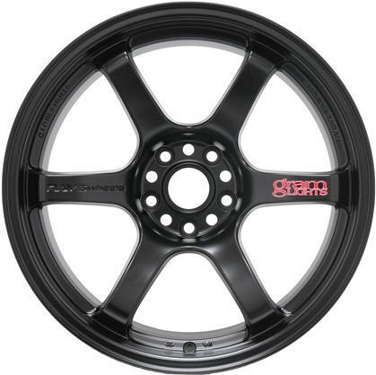 Gram Lights 57DR - 18x10.5 +22 5x114.3 - Semi Gloss Black