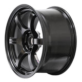 Gram Lights 57DR 18X9.5 +38 5-114.3 in Semi Gloss Black