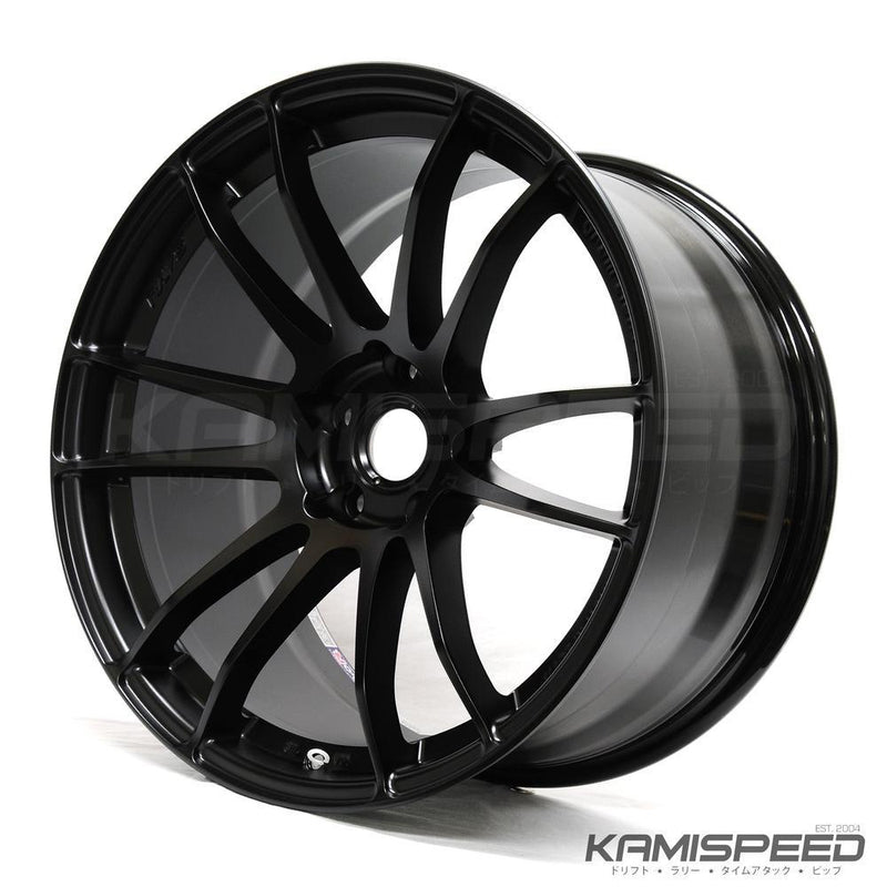 Gram Lights 57XTREME 18X9.5 +40 5-114.3 SEMI GLOSS BLACK