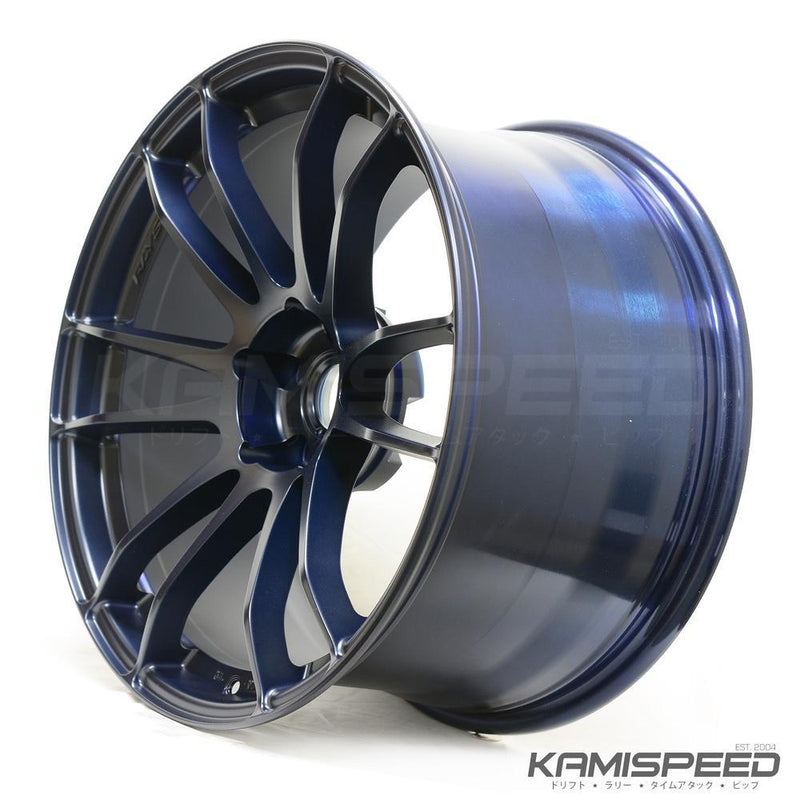 Gram Lights 57XTREME 18X9.5 +40 5-114.3 WINING BLUE