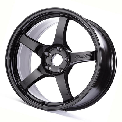 GramLights 57CR 18X9.5 +38 5-120 Gloss Black | 2017+ Civic Type R