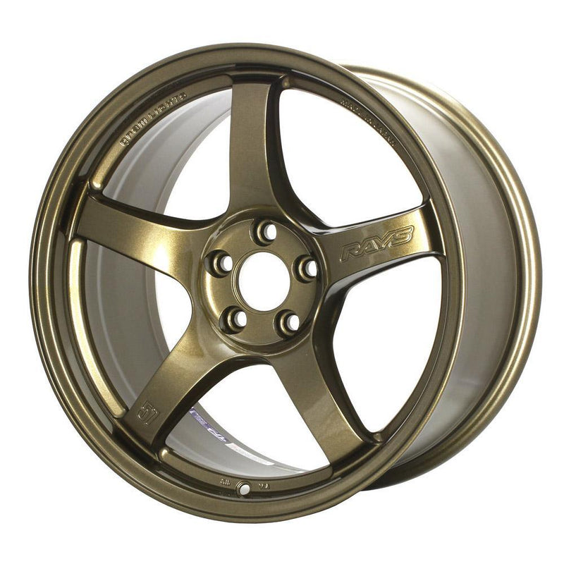 GramLights 57CR 19x9.5 +45 5x114.3 | Almite Gold