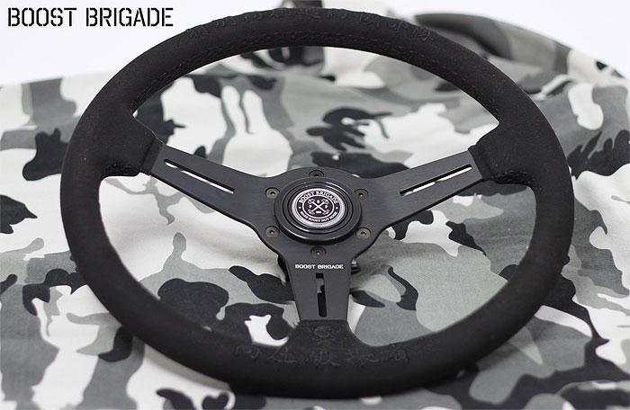 Greddy Boost Brigade 340mm Steering Wheel