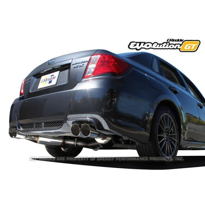 GReddy EVOlution GT Exhaust 11-14 Subaru Impreza WRX STi