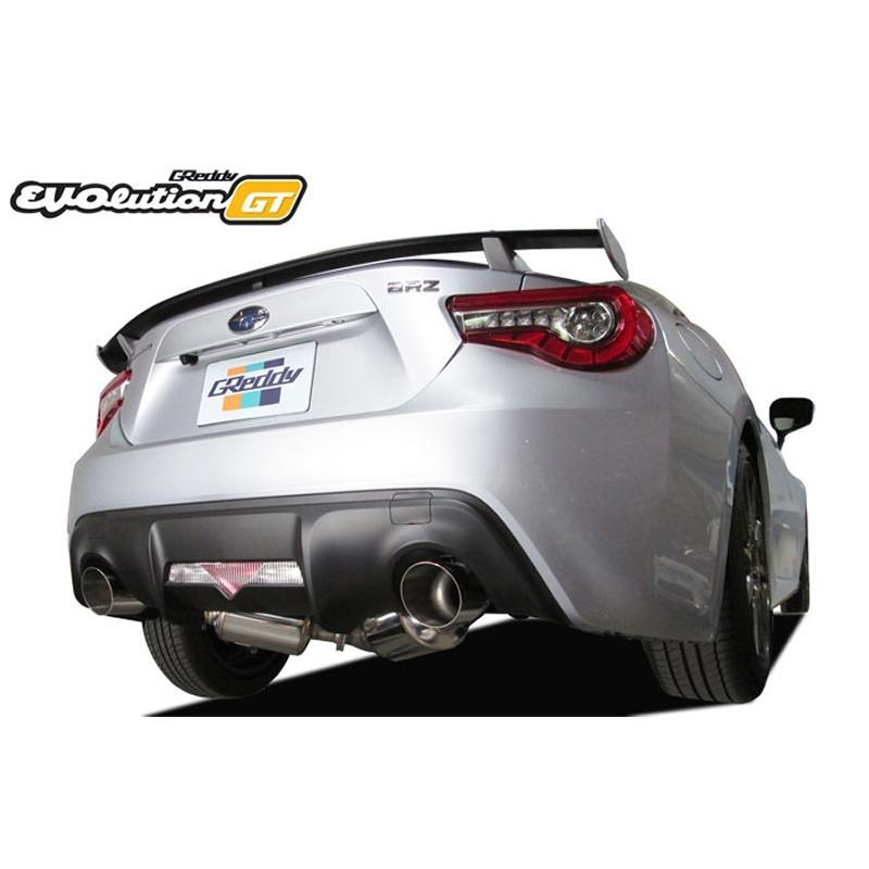 GReddy EVOlution GT Cat-back Exhaust for 2017+ 86 and BRZ