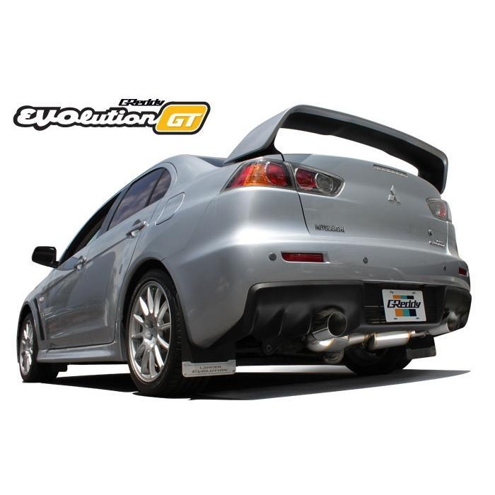 GReddy EVOlution GT Exhaust 08-15 Mitsubishi Lancer Evolution X
