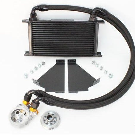GReddy Grey Oil Cooler Kit | 2017+ Honda Civic Type R (12058002)