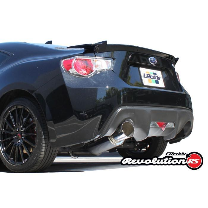 GReddy Revolution RS Exhaust Scion FR-S / Subaru BRZ