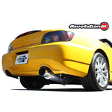 GReddy Revolution RS Cat-Back Exhaust for Honda S2000