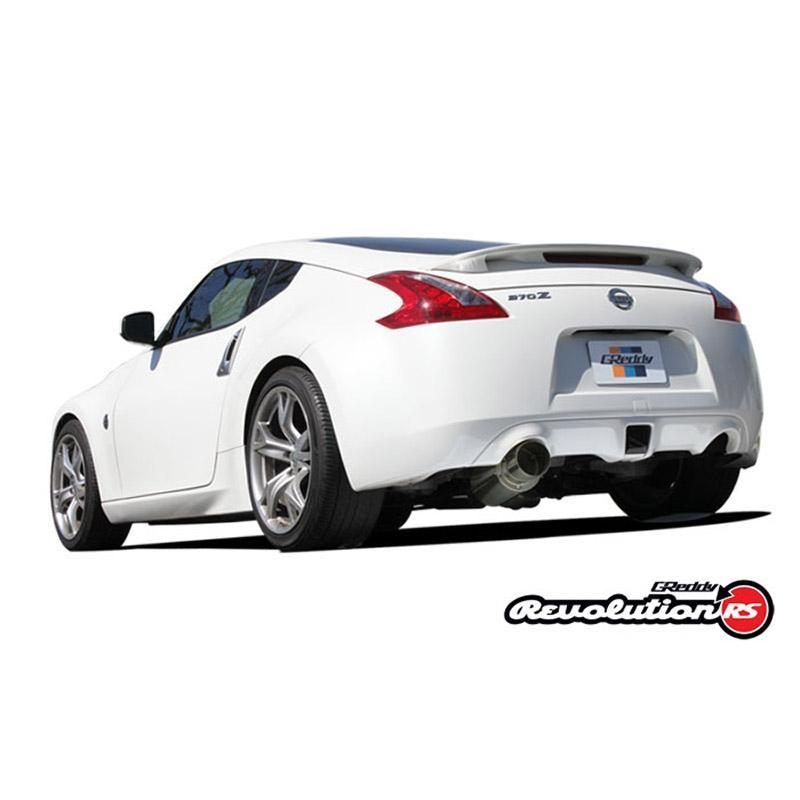 GReddy Revolution RS Cat-Back Exhaust Nissan 370Z