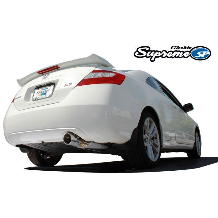 GReddy Supreme SP Exhaust for the 06-11 Honda Civic Si