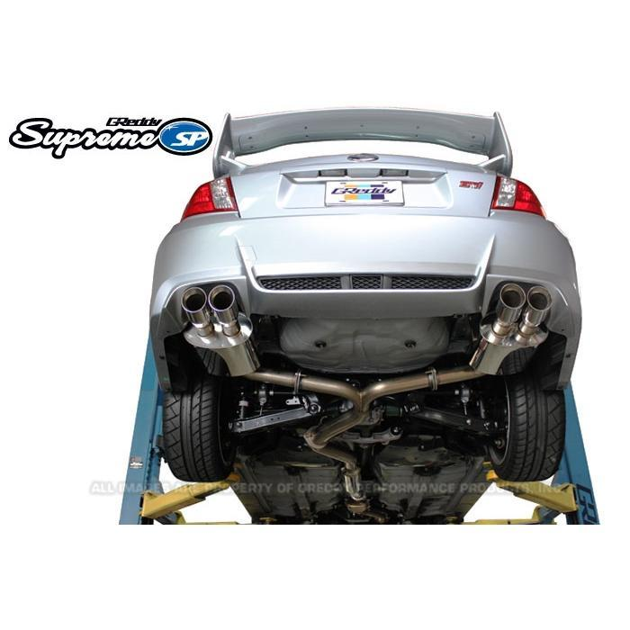 GReddy Supreme SP Exhaust - Subaru Impreza WRX STI Sedan GVB