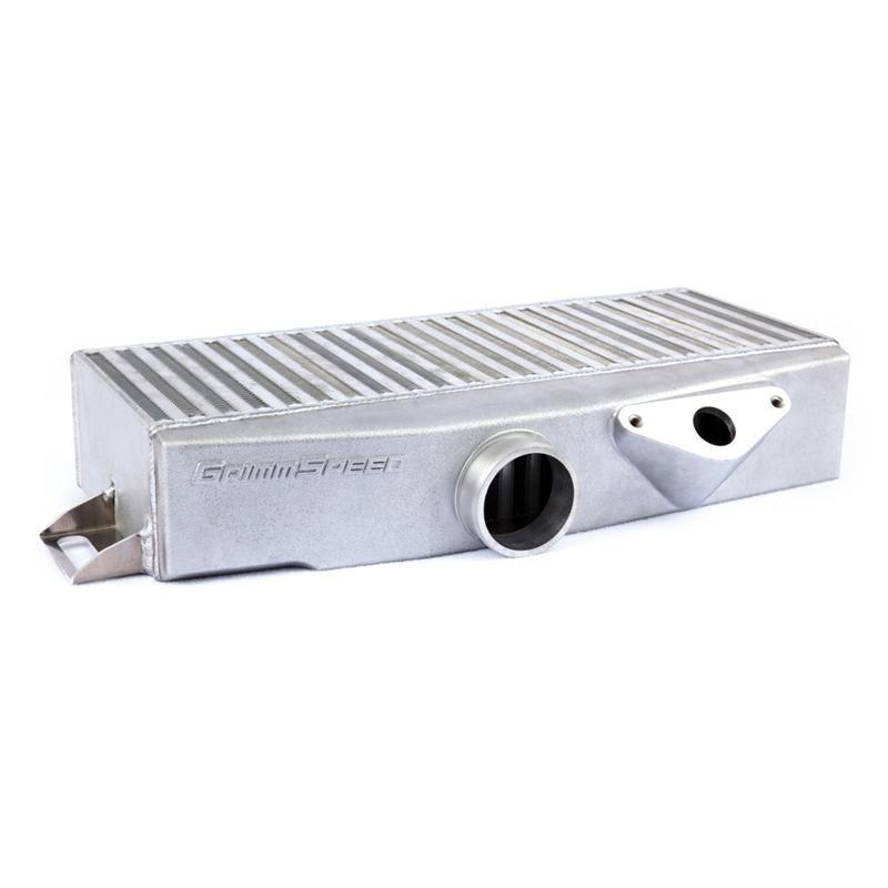 Grimspeed Top Mount Intercooler (Silver) - 04-17 Subaru STI