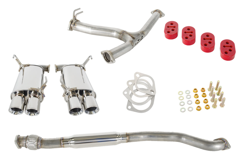 GrimmSpeed 11-20 Subaru WRX/STi Sedan Resonated CatBack Exhaust System