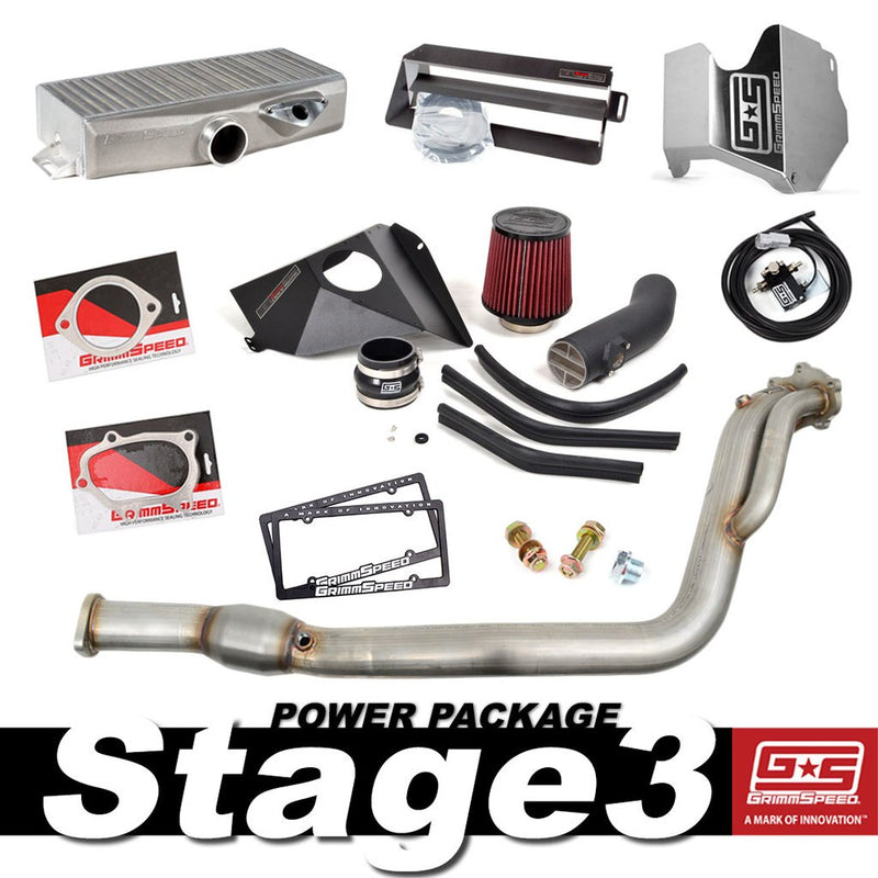GrimmSpeed Stage 3 Power Package for Subaru 2015-2019 STi