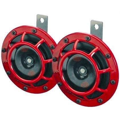 Hella Supertone Horn Kit in Red (Universal) (003399801)