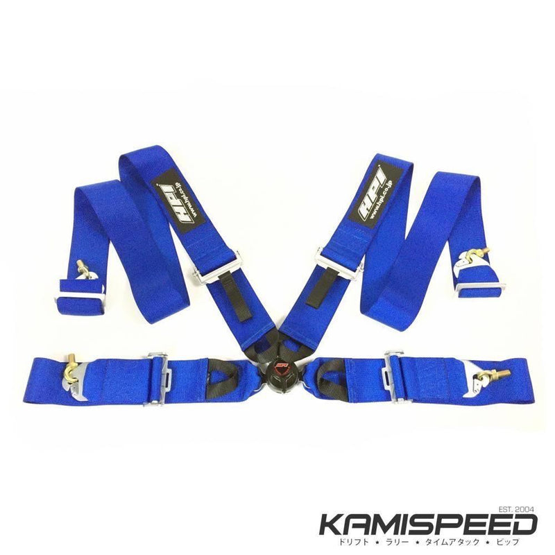 HPI 4-Point FIA-Approved Blue Racing Safety Harness