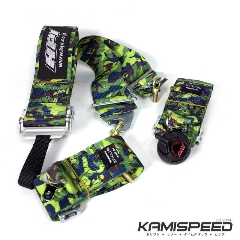 HPI 4-Point FIA-Approved Camouflage Racing Safety Harness