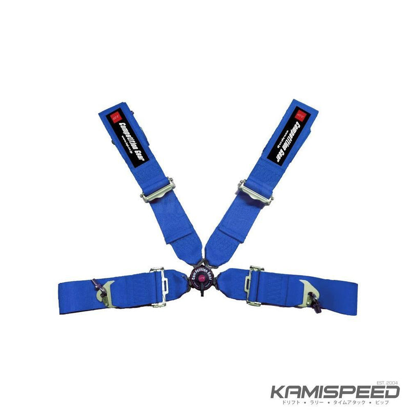 HPI 4-Point FIA-Approved Racing Harness New Version Blue