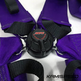 HPI 4-Point FIA-Approved Purple Racing Safety Harness