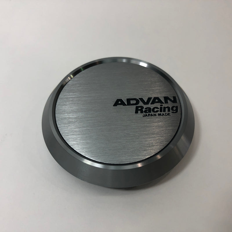 Advan Racing Center Cap - 63 Flat Hyper Black