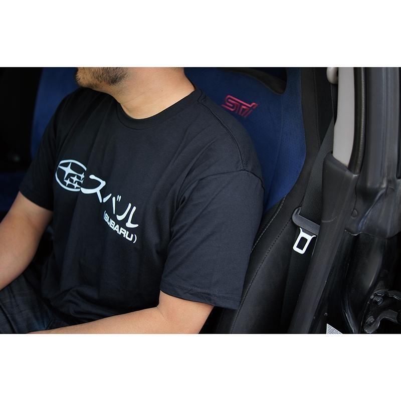 Kami Speed Subaru Mens T-Shirt in Black