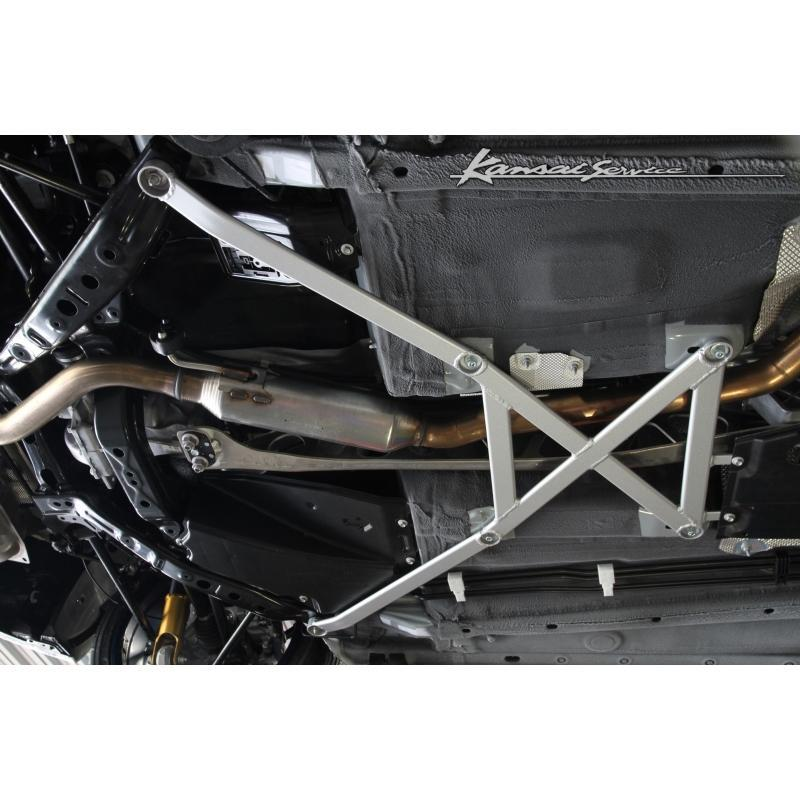Kansai 6-point Rear Brace Bar for the Mazda MX-5 Miata ND