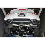 Kansai Service R Titan Dual Cat-Back Exhaust for the Nissan GTR R35