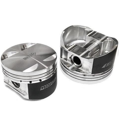 Manley Platinum Series Forged Piston - STD Size - 99.50mm Grade B - 04+ Subaru WRX STi EJ257