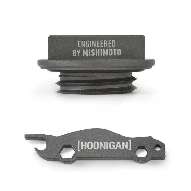 Mishimoto X Hoonigan Oil Filler Cap Combo for Mazda M35 x 4.0 Applications