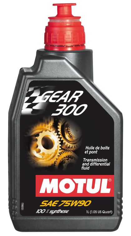Motul 1L Transmission GEAR 300 75W90 - Synthetic Ester
