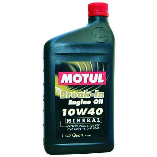 Motul 1QT Classic Break-In Engine Oil - 10W40 (108080)(2810QTA)
