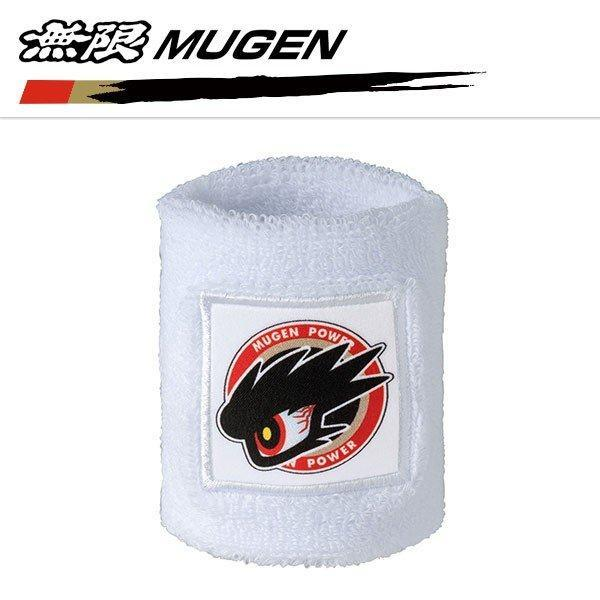 Mugen X Shibuya Commander Eye Wrist Band in White
