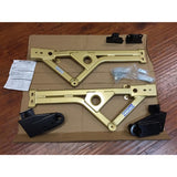 Open Box Beatrush Rear Lower Chassis Bracing 2008-2014 STi