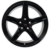 Option Lab R555 Gotham Black Wheel in 18x9.5 +38 5x114.3 (73.1mm)