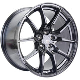 Option Lab R716 Gotham Black Wheel in 18x9.5 +35 5x100 (73.1mm)