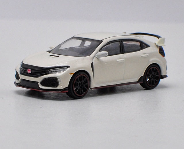 Honda Civic Type R (FK8) 1:64 Diecast Model Car in Blue or White