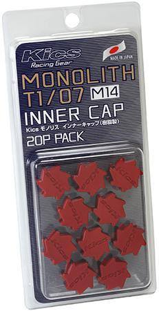 Project Kics Monolith M14 Cap Set - Red