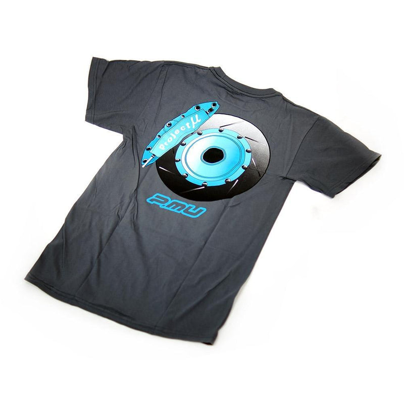 Project Mu Racing Brake Grey T-Shirt