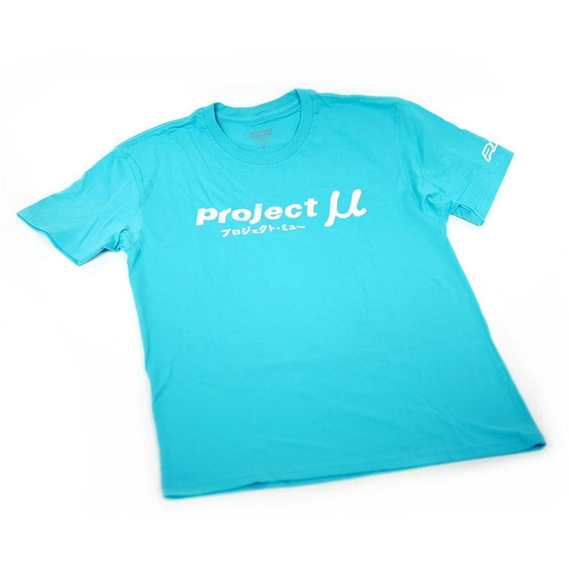 Project Mu Teal Caliper T-Shirt