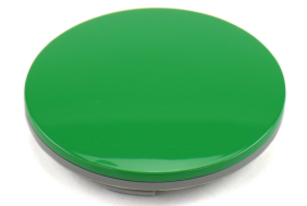 Rays A-Flat O-Ring Type Center Cap - GT Green