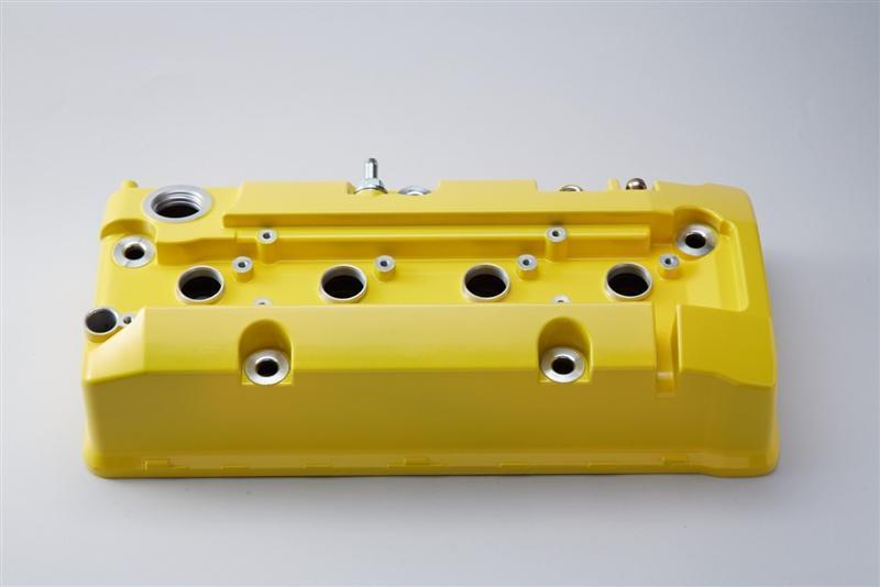 Spoon Sports Yellow Valve Cover - Honda S2000 2006-2009 AP1/2