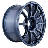 SSR GT X01 Wheels in 18x9.5 +22 5x114.3 with Blue Gunmetal
