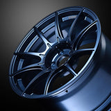 SSR GT X01 Wheels in 18x9.5 +40 5x114.3 with Blue Gunmetal