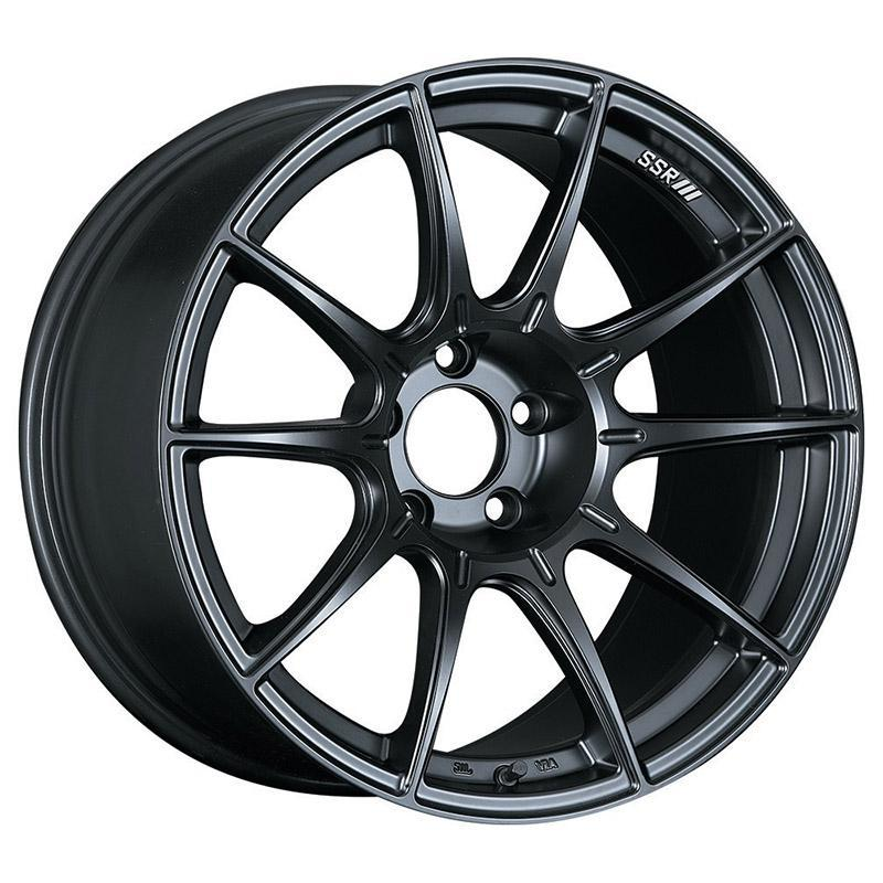 SSR GT X01 Wheels in 19x9.5 +38 5x120 with Flat Black