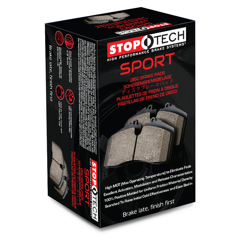 StopTech Performance Front Brake Pads for Subaru WRX 2015+
